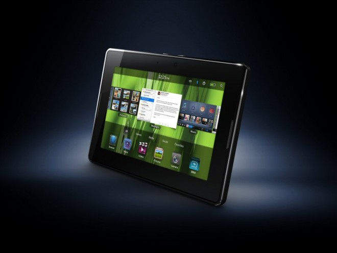 La nouvelle tablette tactile de RIM : Blackberry Playbook