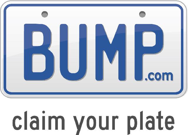 Communiquez avec vos plaques d'immatriculations avec Bump
