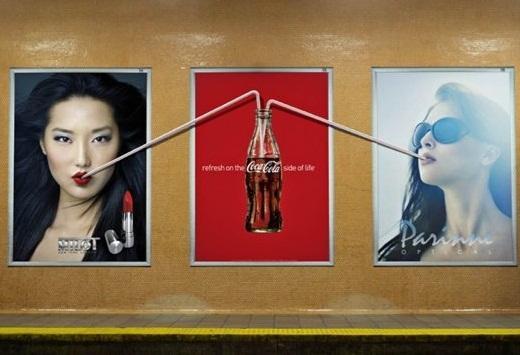 Publicité Coca Cola Toronto