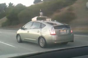 Google car Toyota Prius
