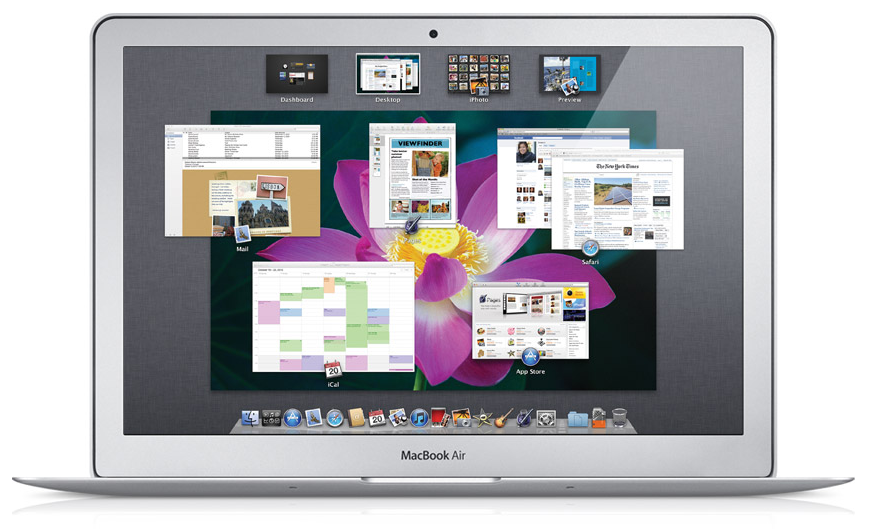 MAC OS X Lion : Mission Control Apple