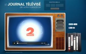 Journal TV de votre naissance sur Dailymotion