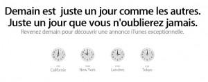 Apple annonce les beatles sur iTunes