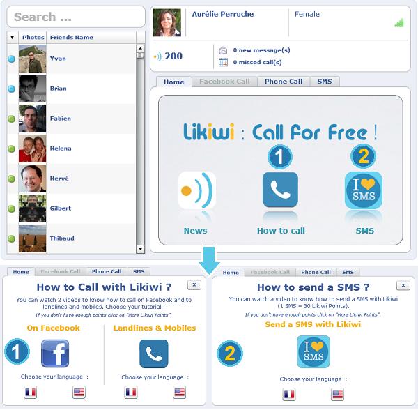 Likiwi comment téléphoner gratuitement tutoriel
