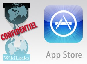 L'application Wikileaks retirée de l'Appstore