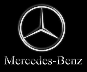 Logo Mercedes Benz - nouvelle publicité noël