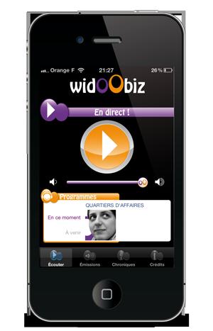 Widoobiz, la radio des entrepreneurs
