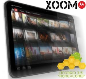 Tablette tactile Motorola Xoom avec Android 3.0