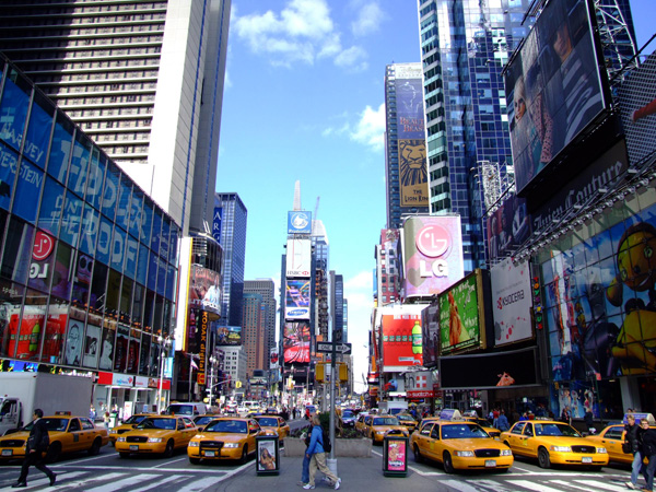 Interdiction des mobiles dans les rues de NYC