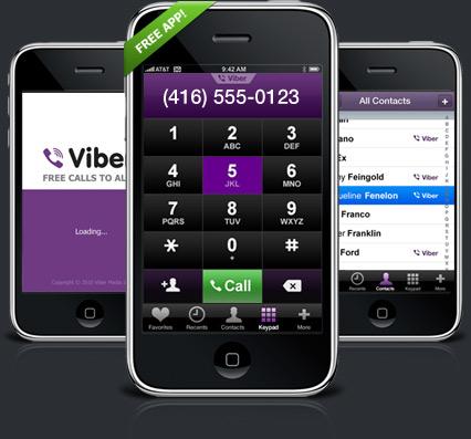 Téléphoner gratuitement sur iPhone avec Viber