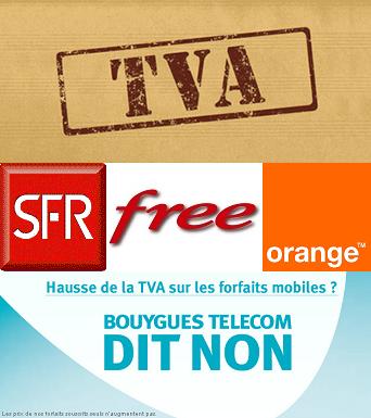 Changer d'opérateur : hausse TVA