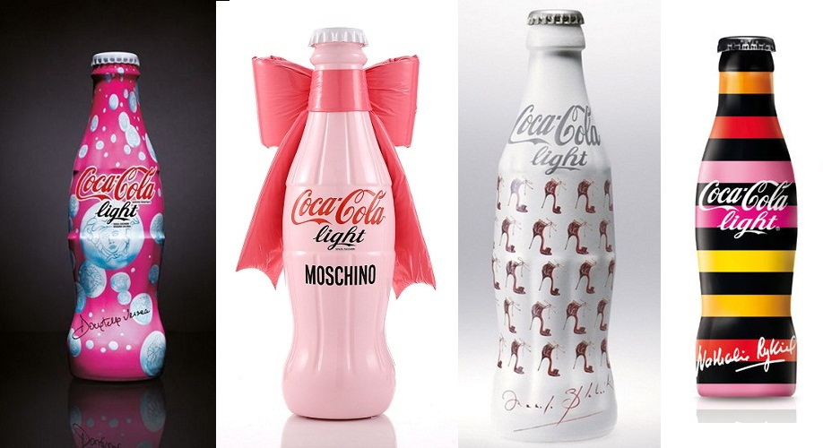 Cagne de pub coca cola light by karl lagarfeld
