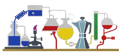 Image animée Google : 200e anniversaire Robert Bunsen