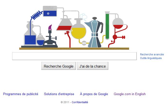 Image Google de Robert Bunsen - 200e anniversaire