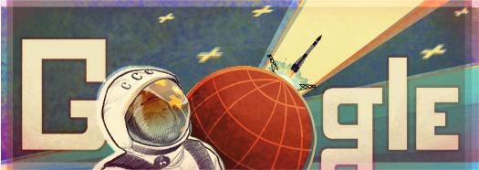 Doodle 50e anniversaire du premier pas sur la lune
