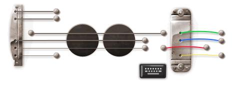 Google Doodle 96e anniversaire Les Paul