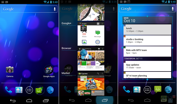 Ice Cream Sandwich Android 4.0